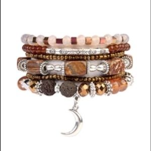 Gems & Beads Stackable Bracelet